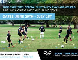 #10 for Design a Banner for soccer camp by pradeep9266