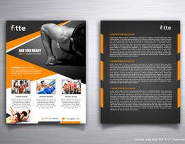 Mondalstudio tarafından Design a Flyer for Fitness Business için no 10