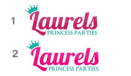 Nro 92 kilpailuun Princess Parties Logo käyttäjältä rraja14