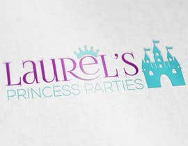 #69 for Princess Parties Logo by IllusionG