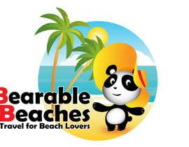 #104 para Design a Logo for Bearable Beaches por BlueMonkeyStudio