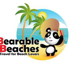 #106 para Design a Logo for Bearable Beaches por BlueMonkeyStudio