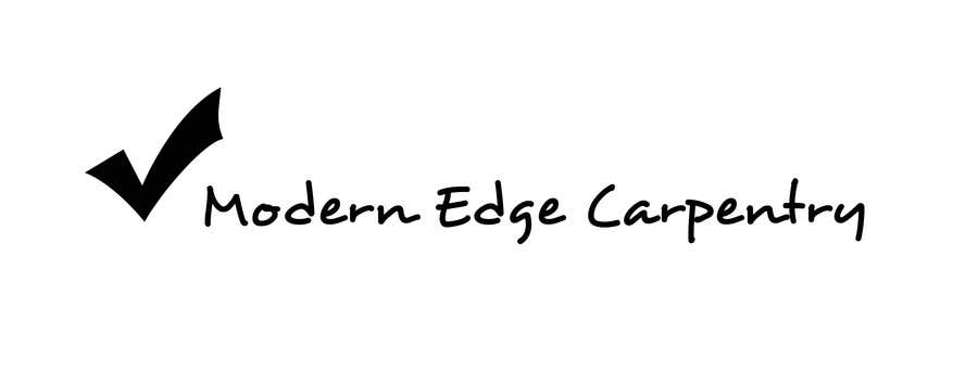 Konkurrenceindlæg #                                        59                                      for                                         Design a Logo for Modern Edge Carpentry