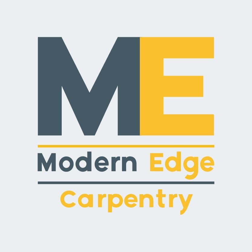 Konkurrenceindlæg #                                        48                                      for                                         Design a Logo for Modern Edge Carpentry