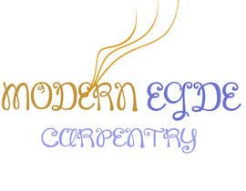 #61 for Design a Logo for Modern Edge Carpentry by Zubairashraf012