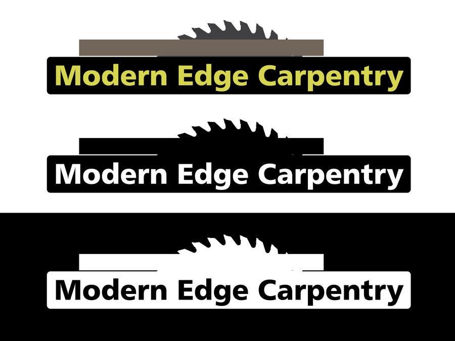 Konkurrenceindlæg #                                        52                                      for                                         Design a Logo for Modern Edge Carpentry