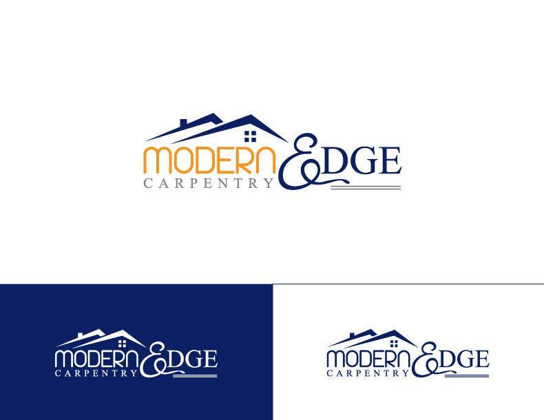 Konkurrenceindlæg #                                        54                                      for                                         Design a Logo for Modern Edge Carpentry
