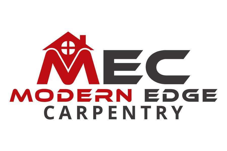 Konkurrenceindlæg #                                        65                                      for                                         Design a Logo for Modern Edge Carpentry