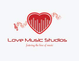nº 34 pour Design a Logo for Love Music Studios par divyasl