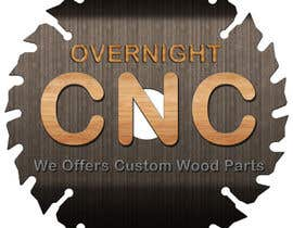 nº 8 pour Design a Logo for Overnight CNC par parteekrsnr