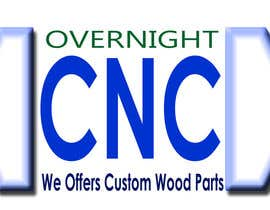 nº 15 pour Design a Logo for Overnight CNC par parteekrsnr