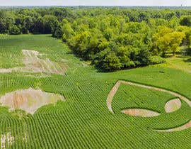 sergeykuzych tarafından PHOTOSHOP!  I need an ALIEN logo photoshopping into a corn field!! için no 27