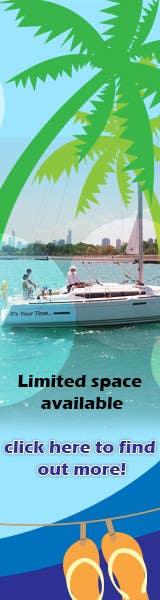 Konkurrenceindlæg #8 for Bare-boat Sailboat Banner Contest