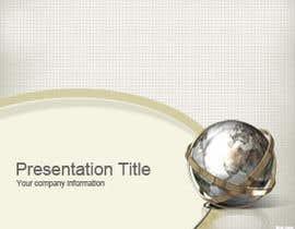 nº 15 pour Eu preciso de algum Design Gráfico for um templete de slide para uma empresa de consultoria par AnastaciaL
