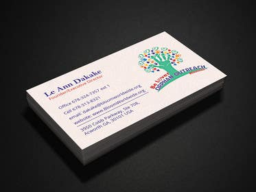 #20 cho Design some Business Cards for BLOOM! bởi murtalawork