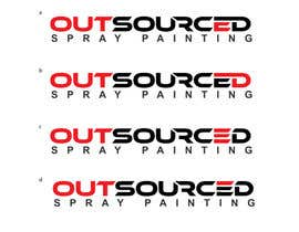 #22 for Design a Logo for Outsourced Spraypainting by soniadhariwal