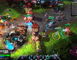 RetroType tarafından Gaming Overlay - Heroes of the Storm UI için no 10