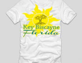 nº 63 pour Design a T-Shirt for Key Biscayne, Florida par dilukachinda