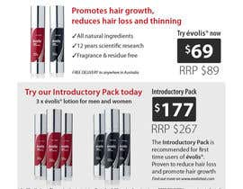 #1 for Design an email Flyer to market an amazing new hair regrowth product by BunnyMunro