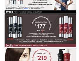 #25 for Design an email Flyer to market an amazing new hair regrowth product by matt3214