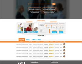#12 cho Design a Website Mockup for HireHelp.com bởi Adzibabo