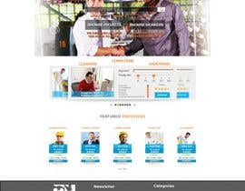 #28 cho Design a Website Mockup for HireHelp.com bởi Adzibabo
