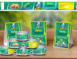 #11 untuk Canned tuna label and poster design. oleh rabdurahmanov