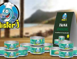 #12 untuk Canned tuna label and poster design. oleh rabdurahmanov
