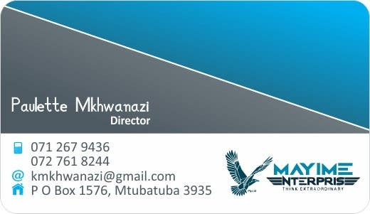 Contest Entry #                                        12                                      for                                         Design a business card for a holding company