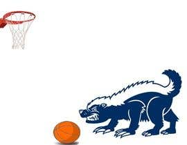 #3 for Honey badger basketball logo af sandeepjindal91