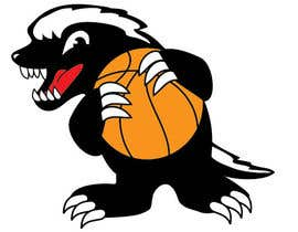 #7 for Honey badger basketball logo af tjayart