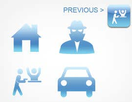 parikhan4i tarafından Design nogle Ikoner for app için no 25