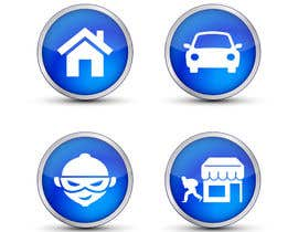 mwa260387 tarafından Design nogle Ikoner for app için no 27