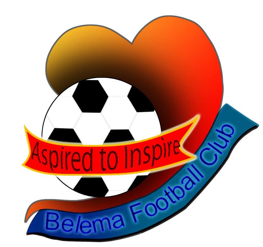 Kilpailutyö #23 kilpailussa Design a Logo for football club