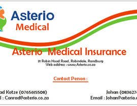 #12 para Design a letterhead and business cards for a medical insurance company por ajivets
