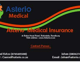 #13 para Design a letterhead and business cards for a medical insurance company por ajivets