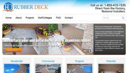 Nro 74 kilpailuun Design a Logo for Rubber Deck käyttäjältä SergiuDorin
