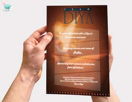 #2 untuk Design a Brochure for Hand Made Diya brochure. oleh pixmercy