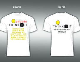 #58 cho Design a T-Shirt for Think of IT bởi stevelim995