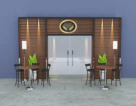 #10 for Front face render of a Cigar Lounge. af archiact