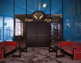#6 cho Front face render of a Cigar Lounge. bởi peruzzy91