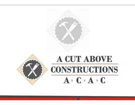 Shrey0017 tarafından Business Card & Renders for A Cut Above Constructions için no 23