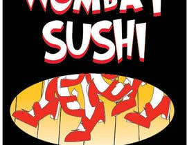 #5 para Design a book cover - Wombat Sushi by Rhonda Louise por tjayart