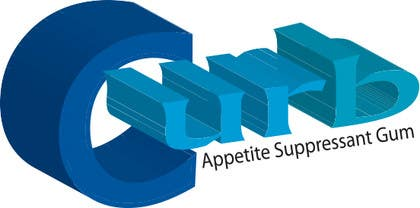 """Nro 20 kilpailuun Logo for """"Curb"""" gum käyttäjältä mizan01727"""