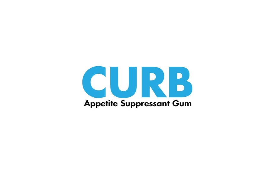 """Kilpailutyö #19 kilpailussa Logo for """"Curb"""" gum"""