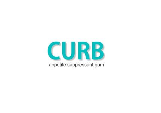 """Kilpailutyö #13 kilpailussa Logo for """"Curb"""" gum"""