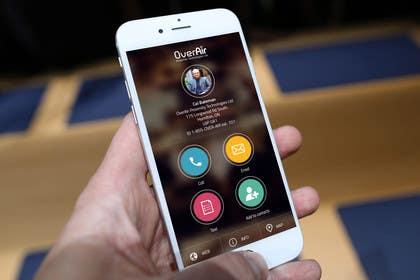 #11 untuk UI/UX Design a Website Mockup for Online Business Cards oleh ankisethiya