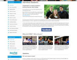 #2 for Design a website page mockup for existing content af webidea12