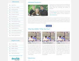 #29 for Design a website page mockup for existing content af oceanganatra