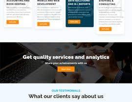 #49 cho Design Custom WordPress Theme for Company Site Redesign bởi Webnoo